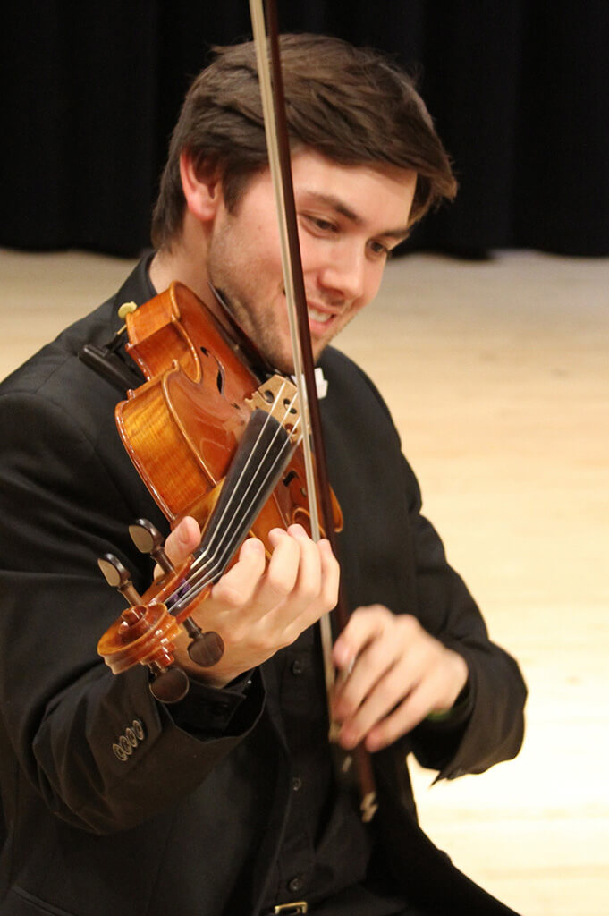 Samuel Lorenzini Oceanside String Quartet in Orange County